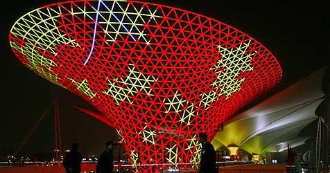 72 Millionen  Besucher bei Expo in China