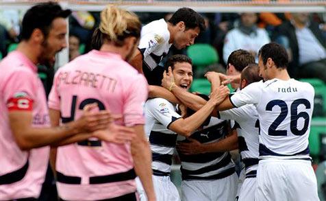 Serie A: Lazio bleibt mit 1:0 bei Palermo Spitzenreiter
