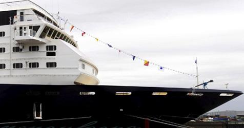 Steirer bangen auf Luxusschiff in Venedig um Zukunft (Bild: EPA)