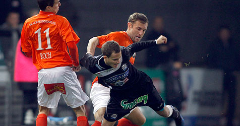"""Wacker verliert in Graz mit 0:2 - nun in Tabelle """"nur"""" noch 4. (Bild: APA/MARKUS LEODOLTER)"""