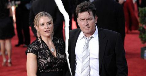 Charlie Sheen trennt sich von Ehefrau Brooke