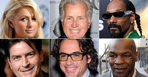 Prominente in Haft: Ein Sheen ist Spitzenreiter (Bild: AP)