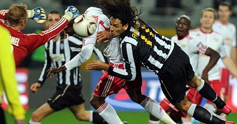 0:0 - Salzburg fehlte gegen Juventus der Mut zum Risiko