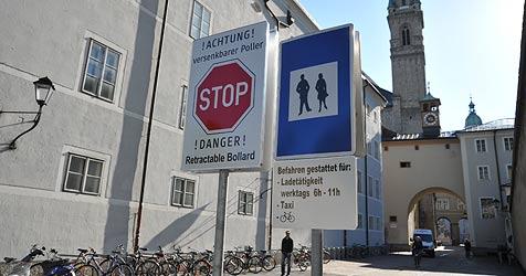 Fußgängerzone in Salzburg im Visier des Höchstgerichts (Bild: Wolfgang Weber)