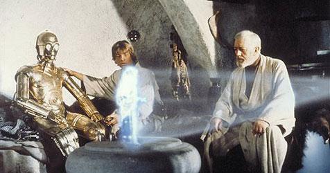 Neue Technik ermöglicht Live-Hologramme (Bild: AP Photo/Lucasfilm Ltd & TM)