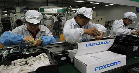 Apple-Zulieferer Foxconn erhöht Gehälter in China