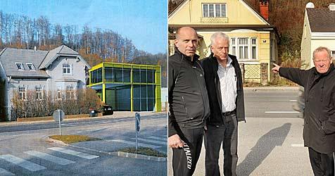 Josef F. darf Monsterhaus in Amstetten bauen (Bild: Franz Crepaz)