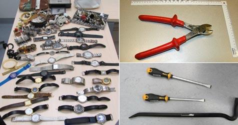 Einbrecher-Quartett gefasst - 15 Coups nun geklärt (Bild: Sicherheitsdirektion NÖ)