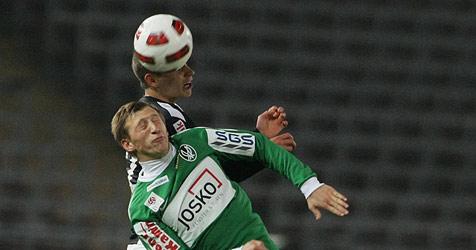 Ried schießt sich mit 1:0 gegen LASK ins Viertelfinale (Bild: APA/rubra)