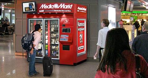 Media Markt testet iPod-Verkauf aus dem Automaten