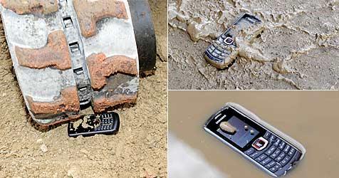 """Samsungs """"Xcover 271"""" beweist Nehmerqualitäten (Bild: Samsung)"""