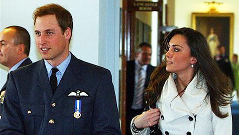 William und Kate: Briten spekulieren über Hochzeit