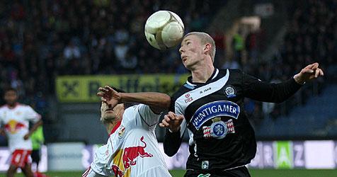 Schlagerspiel Sturm gegen Salzburg endet 0:0 (Bild: APA/Markus Leodolter/Almer)