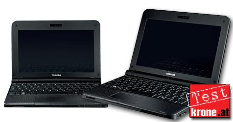 Netbook-Allrounder von Toshiba mit guter Akkulaufzeit (Bild: Toshiba)