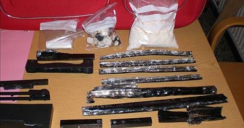 Kokain-Schmuggel-Organisation in Linz zerschlagen (Bild: Polizei)