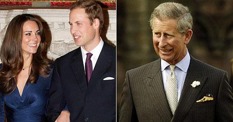 Prinz Charles zahlt Williams und Kates Traumhochzeit