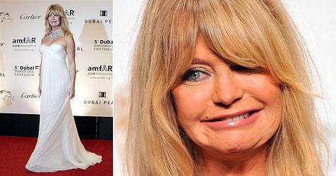 Hollywoods Komödien-Blondine Goldie Hawn wird 65