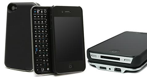 """""""Keyboard Buddy"""" verwandelt iPhone in ein Tastentelefon (Bild: Boxwave)"""