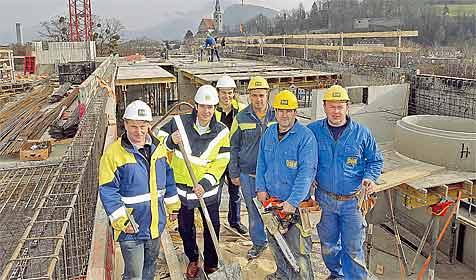 """So wächst die neue """"Chirurgie West II"""" in Salzburg (Bild: Markus Tschepp)"""