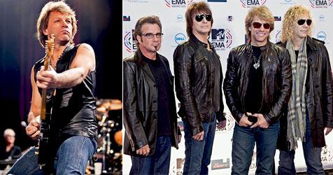 "Jon Bon Jovi: ""Ich spür den Geist Keith Richards"" über mir"" (Bild: Christoph Andert)"