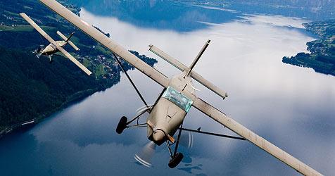 Luftbilder zeigen unser schönes Land ob der Enns (Bild: Bundesheer Kommando Luftunterstützung)