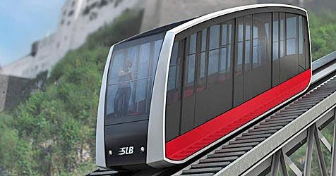 Festungsbahn wird um vier Millionen Euro modernisiert (Bild: APA/ natdesign.at)