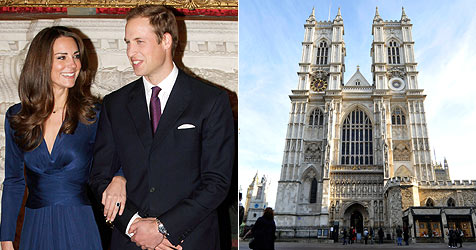 Prinz William und seine Kate heiraten am 29. April