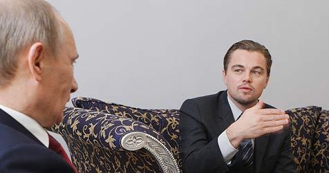 """Putin von DiCaprio begeistert: """"Das ist ein Prachtkerl"""""""