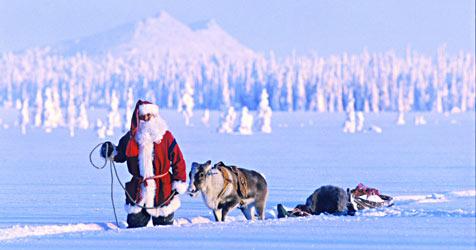 """""""Hyvää Joulua"""" - Frohe Weihnachten auf Finnisch (Bild: Visit Finland)"""