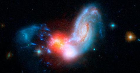 """Teleskop """"Spitzer"""" fotografiert Crash zweier Galaxien Teleskop_Spitzer_fotografiert_Crash_zweier_Galaxien-Sternenexplosion-Story-233111_476x250px_2_wCbqwkrxD9B66"""