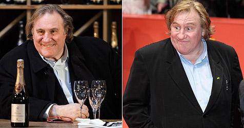 Gerard Depardieu hat mit Wasser-Kur 20 Kilo abgespeckt