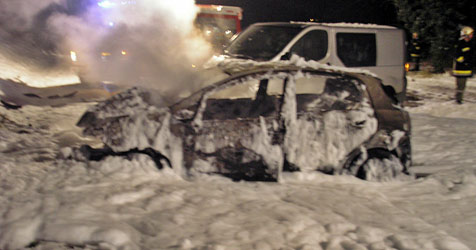 Wintereinbruch führt zu zahlreichen Unfällen in ganz NÖ (Bild: Einsatzdoku.at)