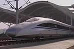 Zug in China stellt Geschwindigkeits-Rekord auf