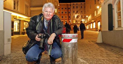 Erstmals Fußgänger bei Poller-Unfall in Salzburg verletzt (Bild: MARKUS TSCHEPP)