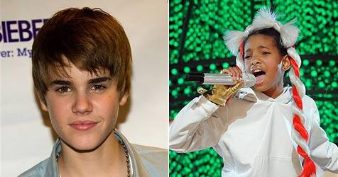 Justin Bieber geht mit Smith-Tochter Willow auf Tour (Bild: AP)