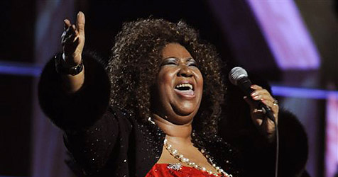 Soul-Legende Aretha Franklin an Krebs erkrankt (Bild: AP)