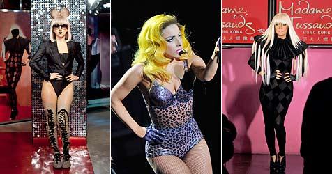 Wachsfiguren von Lady Gaga rund um den Globus enthüllt (Bild: EPA)