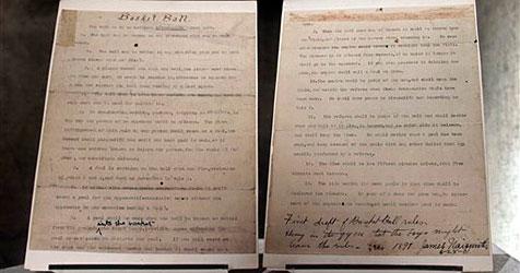 Basketball-Regeln-Dokument von 1891 versteigert