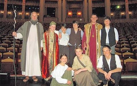 Walser Schauspiel-Ensemble rührte München zu Tränen (Bild: Privat)