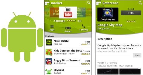 K�rzere Testphasen und neuer Look f�r Android Market