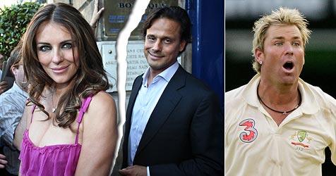 Liz Hurley und Ehemann seit Monaten getrennt (Bild: AP, AFP)