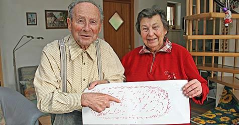 """Ehepaar: """"Wir sahen mysteriöse Lichtkugeln"""" (Bild: Klemens Groh)"""
