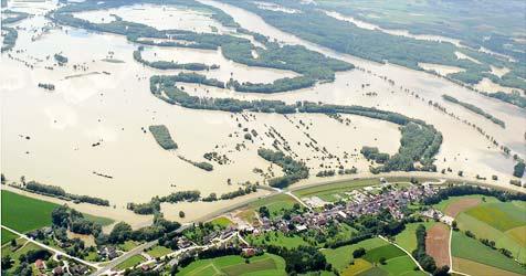 Machlanddamm soll zwei Jahre früher fertig werden (Bild: Ausstellung Donau Fluch & Segen)