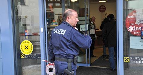 Bankkassierin erholt sich nach 3. Überfall im Urlaub (Bild: Horst Einöder)