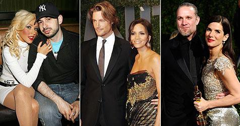 Diese Beziehungen haben 2010 nicht überstanden (Bild: AP)
