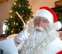 """Erzbischof wettert gegen den """"fetten"""" Weihnachtsmann"""