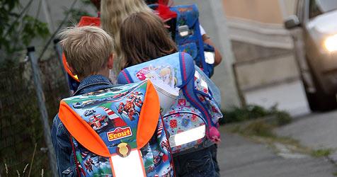 Halleins Kinder sollen gerne zu Fuß zur Schule gehen (Bild: Peter Tomschi)