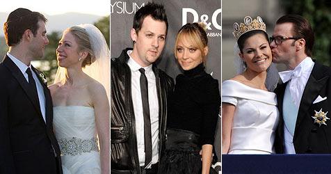 """Diese Stars haben 2010 """"Ja, ich will"""" gesagt (Bild: AP, EPA)"""