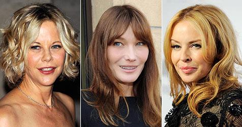 In diesen Botox-Gesichtern bewegt sich nichts mehr (Bild: AP, EPA)