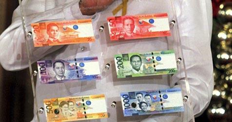 Philippinen drucken neue Geldscheine mit Fehlern